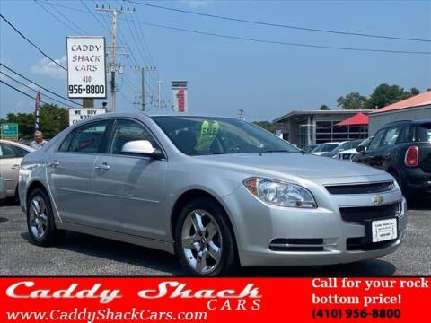 2010 Chevrolet Malibu for sale at CADDY SHACK CARS in Edgewater MD