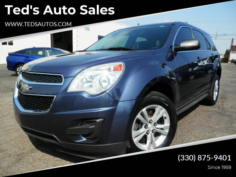 2014 Chevrolet Equinox for sale at Ted's Auto Sales in Louisville OH
