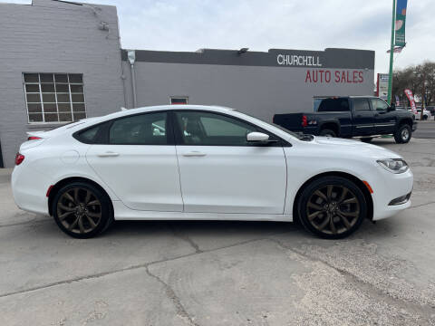 2017 Chrysler 200 for sale at CHURCHILL AUTO SALES in Fallon NV