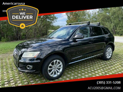 2014 Audi Q5 for sale at Americarsusa in Hollywood FL