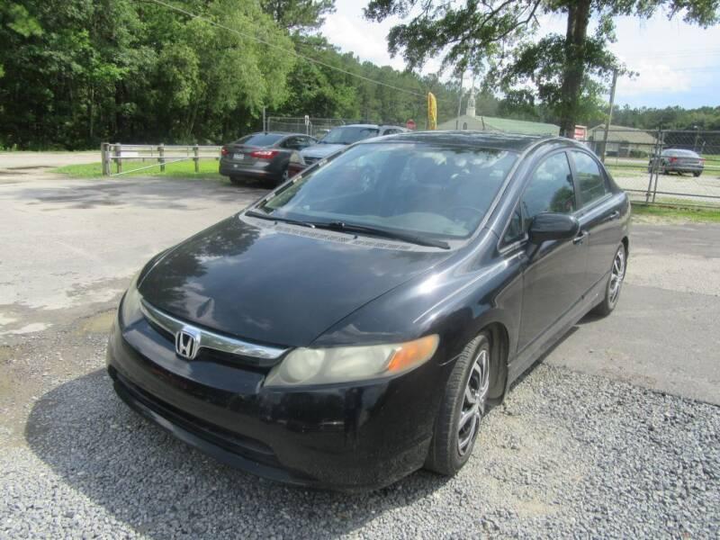 2008 Honda Civic for sale at Bullet Motors Charleston Area in Summerville SC