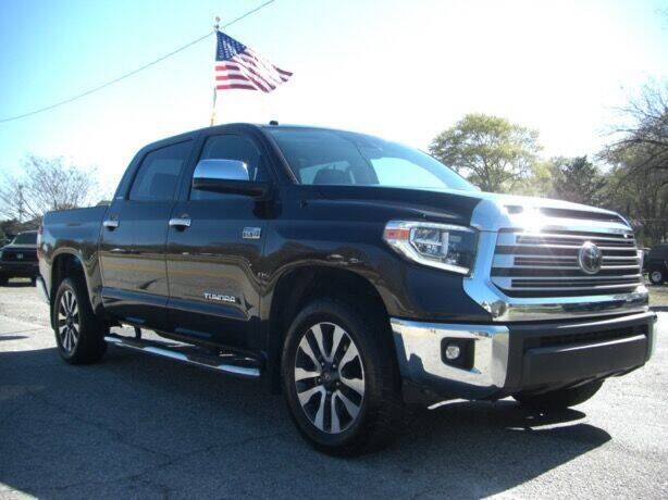 2018 Toyota Tundra for sale at Manquen Automotive in Simpsonville SC