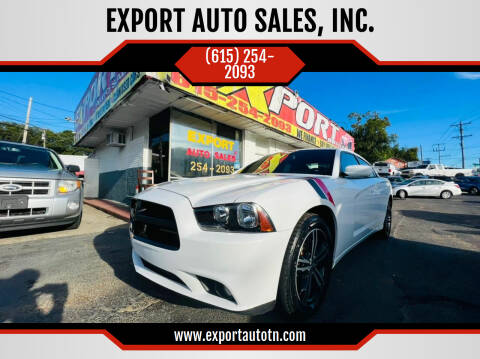 2014 Dodge Charger for sale at EXPORT AUTO SALES, INC. in Nashville TN