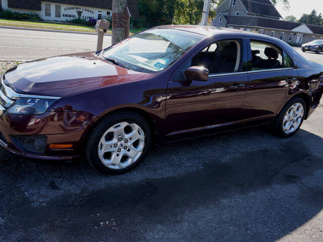 2011 Ford Fusion for sale at Colonial Motors in Mine Hill NJ