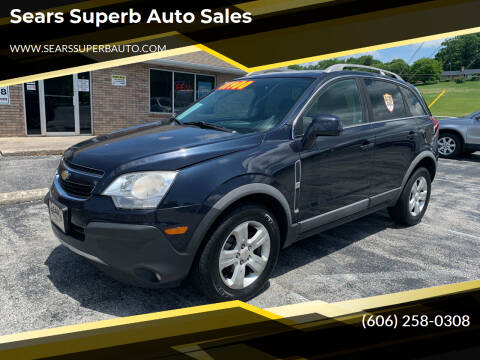 2014 Chevrolet Captiva Sport for sale at Sears Superb Auto Sales in Corbin KY