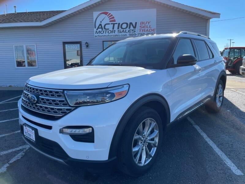 2020 Ford Explorer for sale at Action Motor Sales in Gaylord MI
