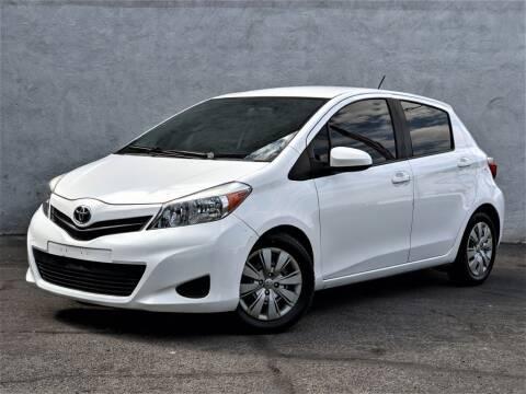 2014 Toyota Yaris for sale at Divine Motors in Las Vegas NV