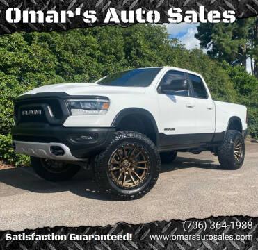 2019 RAM Ram Pickup 1500 for sale at Omar's Auto Sales in Martinez GA
