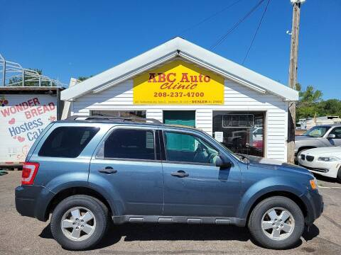2011 Ford Escape for sale at ABC AUTO CLINIC in Chubbuck ID