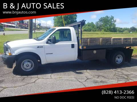 2002 Ford F-350 Super Duty for sale at B & J AUTO SALES in Morganton NC