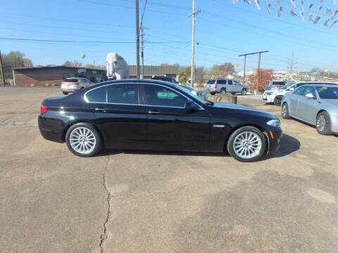 2012 BMW 5 Series for sale at BLACKWELL MOTORS INC in Farmington MO