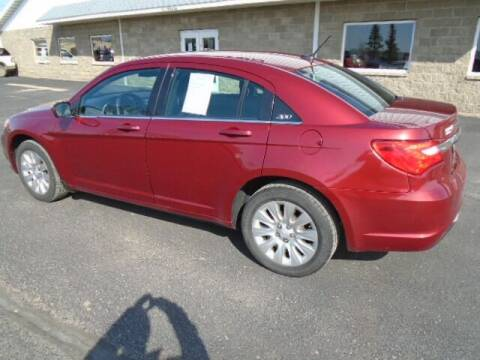 2014 Chrysler 200 for sale at SWENSON MOTORS in Gaylord MN