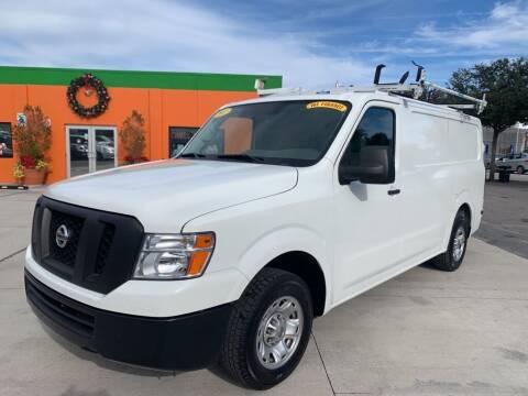 2017 Nissan NV Cargo for sale at Galaxy Auto Service, Inc. in Orlando FL