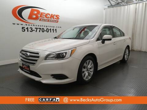 2015 Subaru Legacy for sale at Becks Auto Group in Mason OH