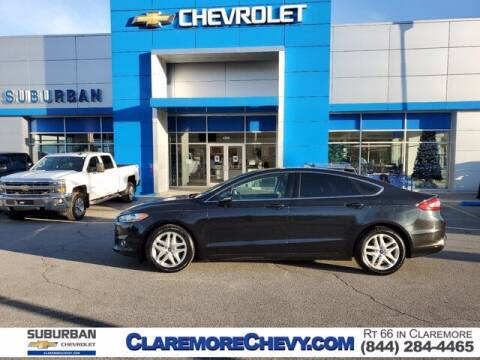 2015 Ford Fusion for sale at Suburban Chevrolet in Claremore OK