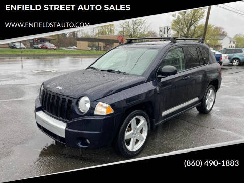 2010 Jeep Compass for sale at ENFIELD STREET AUTO SALES in Enfield CT