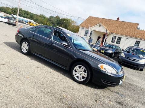 2012 Chevrolet Impala for sale at New Wave Auto of Vineland in Vineland NJ