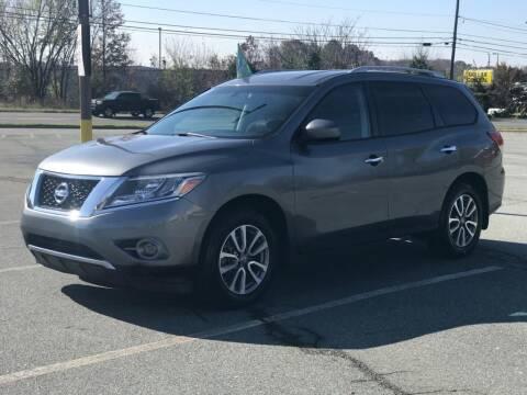 2015 Nissan Pathfinder for sale at RUSH AUTO SALES in Burlington NC