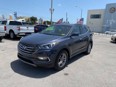2017 Hyundai Santa Fe Sport for sale at MANA AUTO SALES in Miami FL