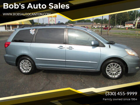 2009 Toyota Sienna for sale at Bob's Auto Sales in Canton OH