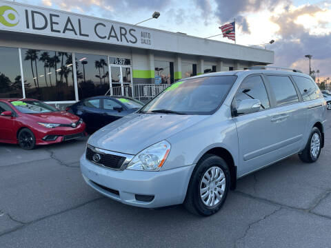2012 Kia Sedona for sale at Ideal Cars East Mesa in Mesa AZ