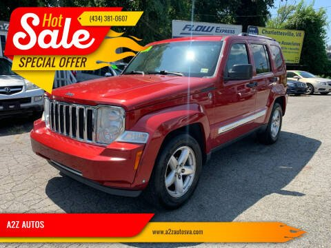 2009 Jeep Liberty for sale at A2Z AUTOS in Charlottesville VA