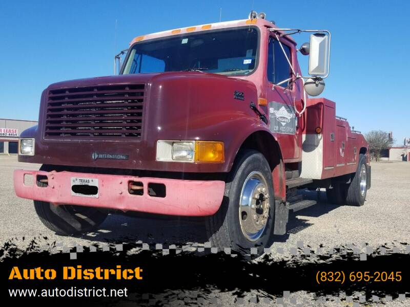 2001 International 4700 for sale at Auto District in Baytown TX