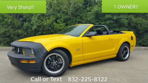 2006 Ford Mustang for sale at Houston Auto Preowned in Houston TX