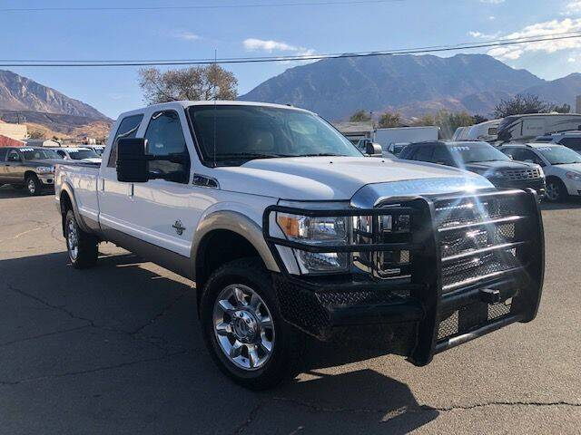2011 Ford F-350 Super Duty for sale at Orem Auto Outlet in Orem UT