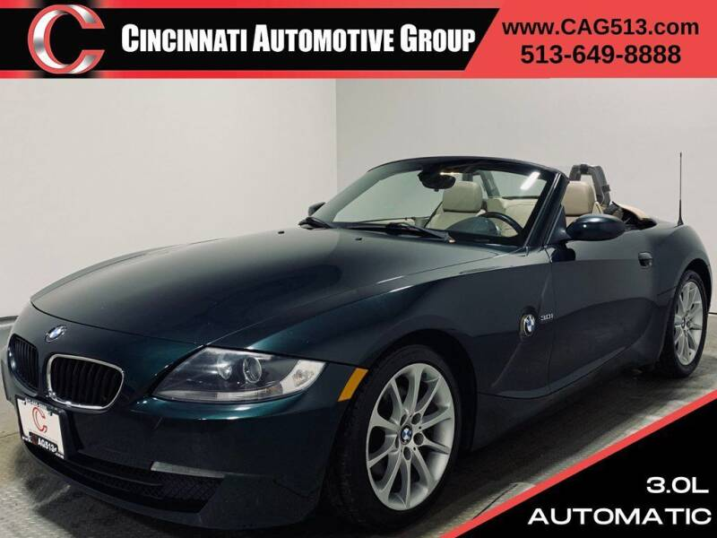 2007 BMW Z4 for sale at Cincinnati Automotive Group in Lebanon OH