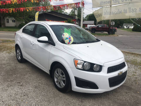 2012 Chevrolet Sonic for sale at Antique Motors in Plymouth IN