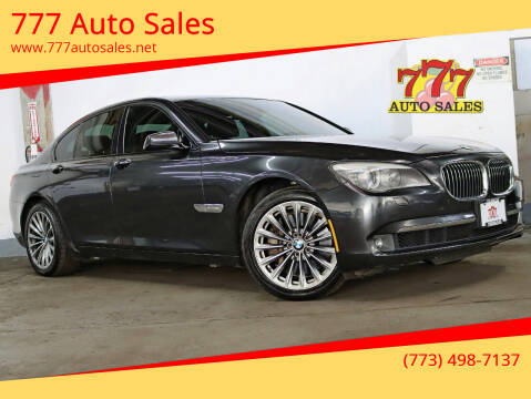 2011 BMW 7 Series for sale at 777 Auto Sales in Bedford Park IL