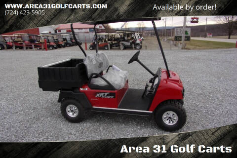 2021 Club Car Dump Cart 800 XRT,  48 Volt Electric for sale at Area 31 Golf Carts - Electric Utility Carts in Acme PA