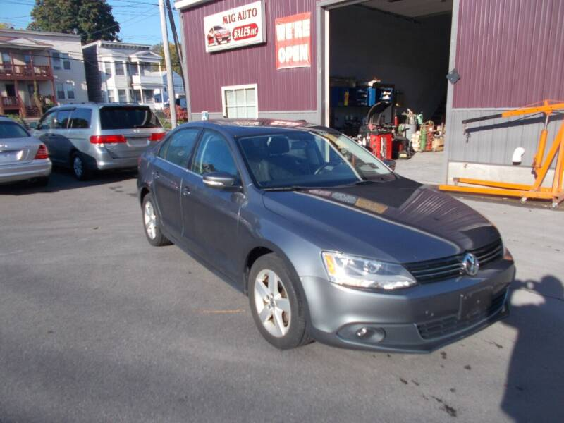 2012 Volkswagen Jetta for sale at Mig Auto Sales Inc in Albany NY