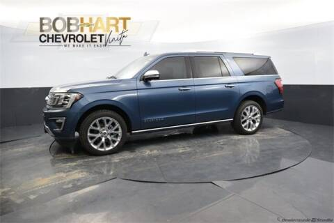 2018 Ford Expedition MAX for sale at BOB HART CHEVROLET in Vinita OK