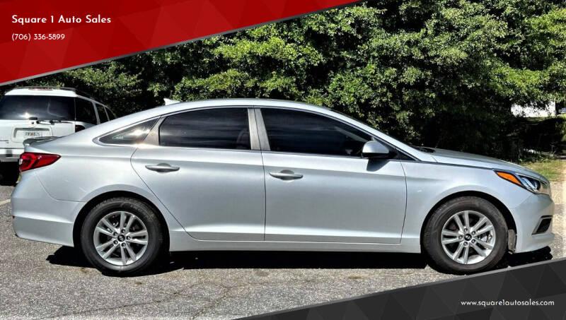 2017 Hyundai Sonata for sale at Square 1 Auto Sales - Commerce in Commerce GA
