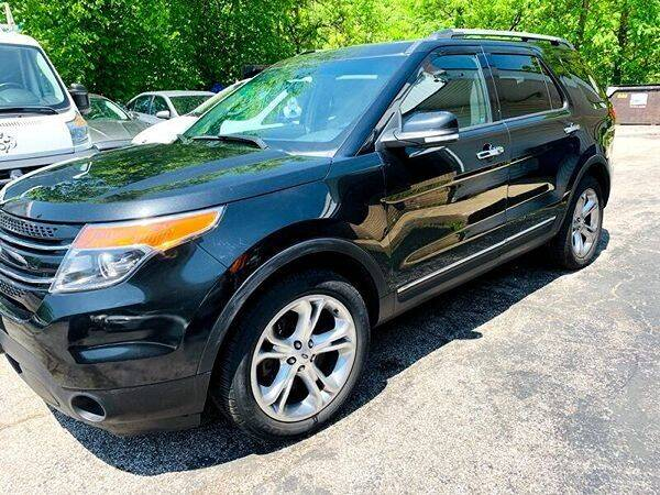 2014 Ford Explorer for sale at Ohio Auto Connection Inc in Maple Heights OH