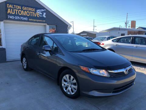 2012 Honda Civic for sale at Dalton George Automotive in Marietta OH