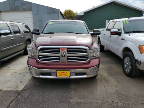 2016 RAM Ram Pickup 1500 for sale at Brothers Used Cars Inc in Sioux City IA