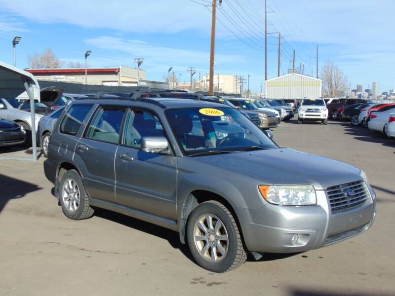 2006 Subaru Forester for sale at Avalanche Auto Sales in Denver CO