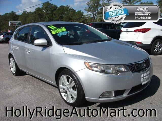 2011 Kia Forte5 for sale at Holly Ridge Auto Mart in Holly Ridge NC