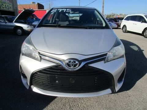 2016 Toyota Yaris for sale at DERIK HARE in Milton FL