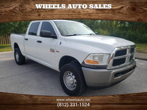 2010 Dodge Ram Pickup 2500 for sale at Wheels Auto Sales in Bloomington IN