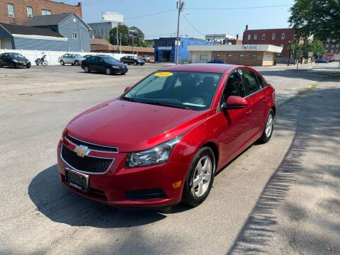 2014 Chevrolet Cruze for sale at Midtown Autoworld LLC in Herkimer NY