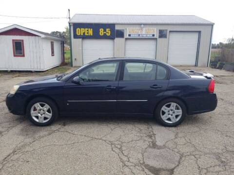 2006 Chevrolet Malibu for sale at David Shiveley in Mount Orab OH
