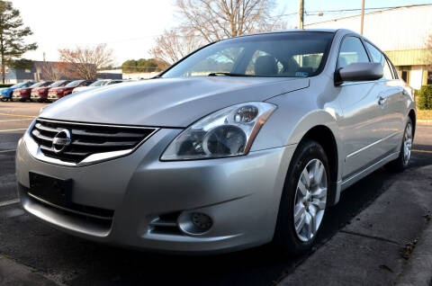2012 Nissan Altima for sale at Wheel Deal Auto Sales LLC in Norfolk VA