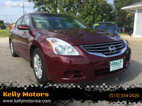 2012 Nissan Altima for sale at Kelly Motors in Johnston IA