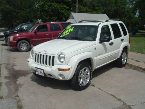 2004 Jeep Liberty for sale at Rex's Auto Sales in Junction City KS