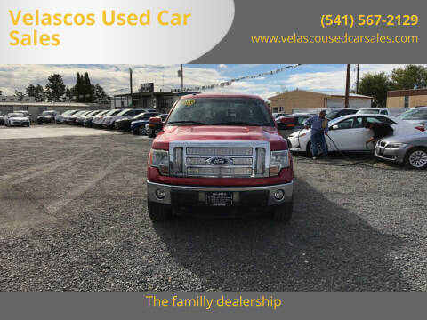 2011 Ford F-150 for sale at Velascos Used Car Sales in Hermiston OR
