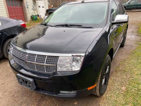 2010 Lincoln MKX for sale at Richard C Peck Auto Sales in Wellsville NY